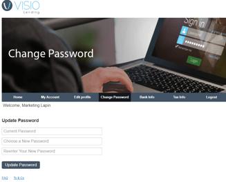 Change Password RP